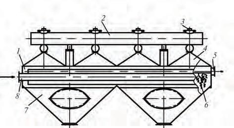 Рис. 1. Воздушный механический касетный фильтр-пылеуловитель